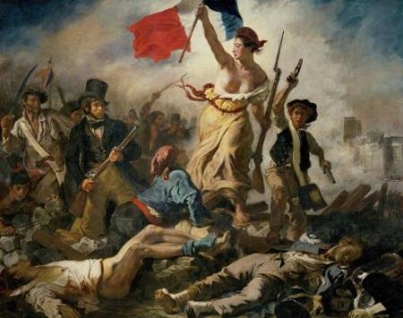 ドラクロア・民衆を導く自由の女神