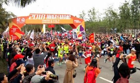 中国のマラソンブーム