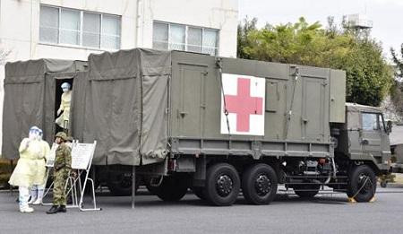 自衛隊の救援活動