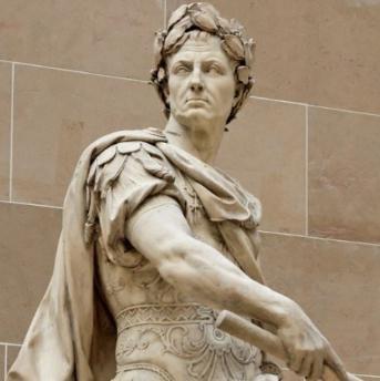 カエサル彫像