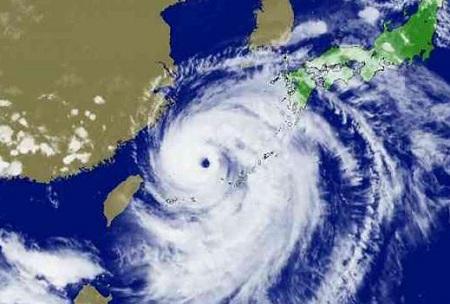 スーパー台風と日本列島
