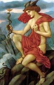 ヘルメスと蛇