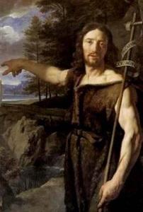 洗礼者ヨハネ長い十字架