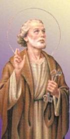 聖ペテロ鍵を持つ