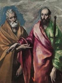 聖ペテロ長い司教杖