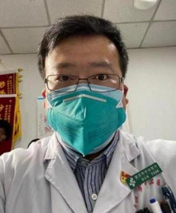新型コロナウイルスの危険性を警告し拘束された医師