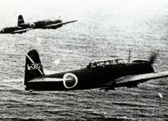 ミッドウェー海戦の日本軍機