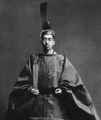 即位した昭和天皇