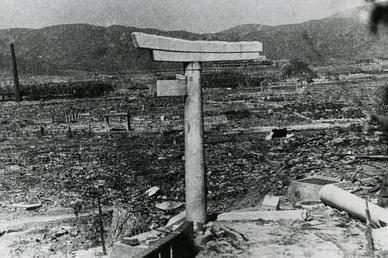 長崎原爆鳥居