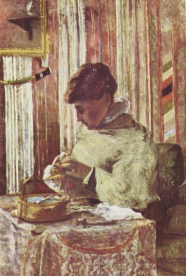 『ゴーギャン夫人の肖像』1880-81年頃。