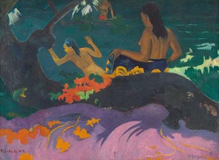 『ファタタ・テ・ミティ(海辺で)』1892年。