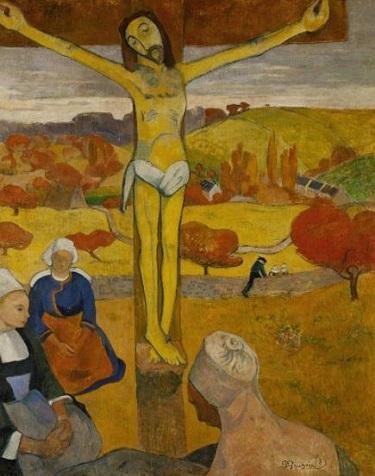 『黄色いキリスト』1889年。