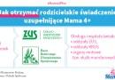 Od dzisiaj można składać wnioski o świadczenie w ramach programu Mama 4+