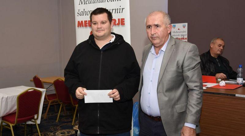 "Velemajstor Ante Šarić osvojio međunarodni šahovski turnir ""Međugorje Open 2019"""