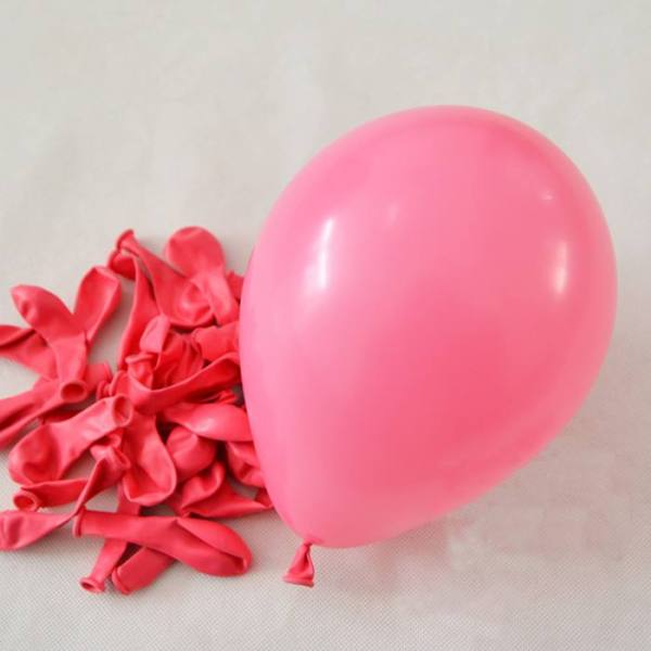 Pink Colored Balloons