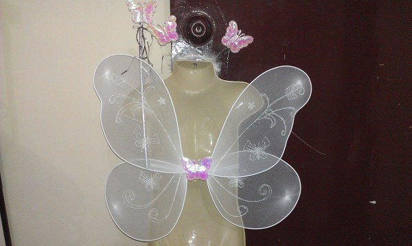 Buy Butterfly wings + headband + magic wand set