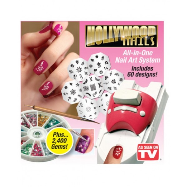 Buy Hollywood Nails All in One Professional Nail Art System Kit