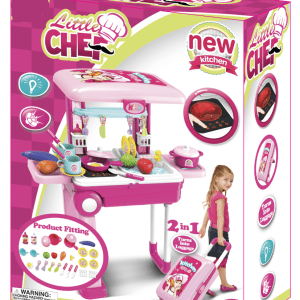 Buy Little Chef 2 in 1 Luggage Kitchen Set