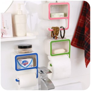 Number Shape Wall Mounted Storage Shelves