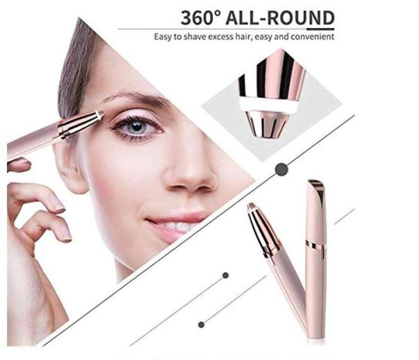 Buy Eyebrow Trimmer Shaper Shaver Hair Remover
