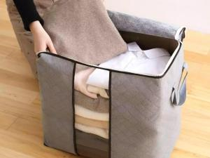 Buy Foldable Non Woven Cloth Storage Bag
