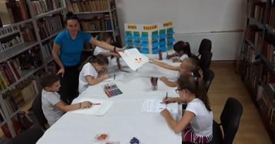 """""""Raspust u Biblioteci"""" – radionice za decu u Borovu"""