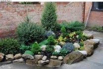 садовый дизайн маленького участка 3