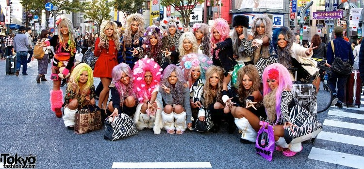 Gyaru - Conheça o estilo independente no Japão - gals2 2