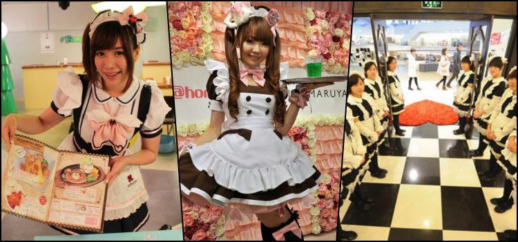 Maid café - conozca a maids café de japón