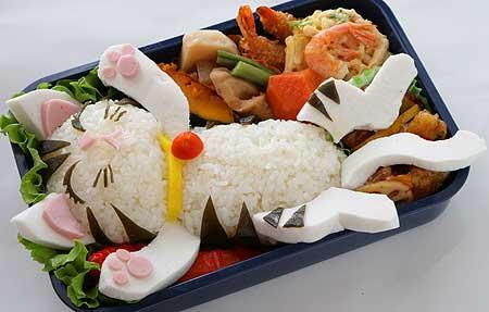 A anatomia de uma refeição japonesa - obento