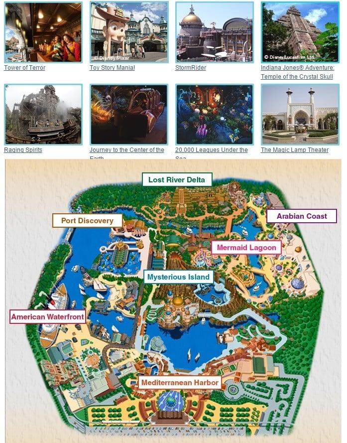 Conhecendo a Disney do Japão e o Disney Sea