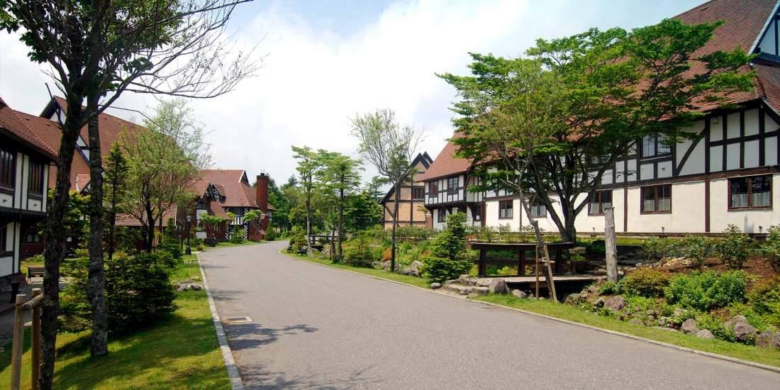 Conhecendo o mundo em lugares estrangeiros do Japão - British Village