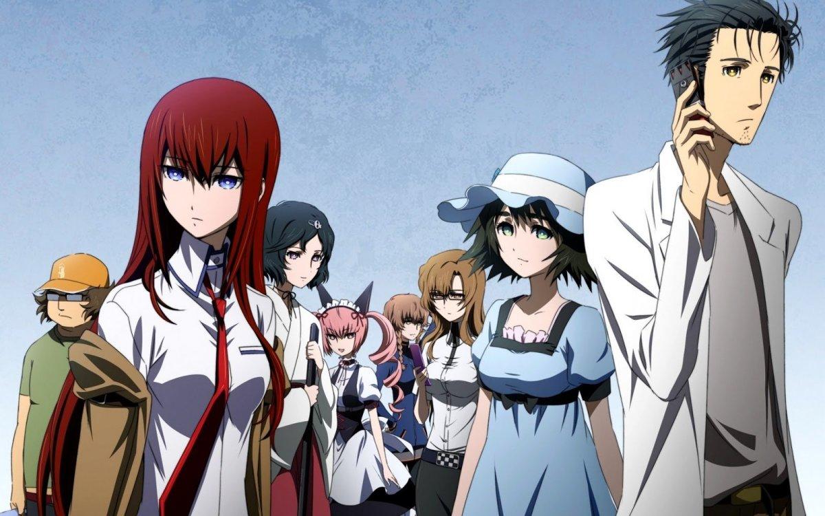 Animes para assistir antes de morrer - Steins Gate 1