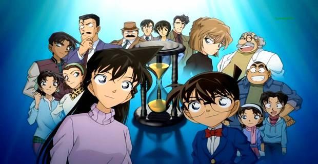 Meu top 10 animes favoritos - Melhores animes de todos os tempos - detetive conan 4