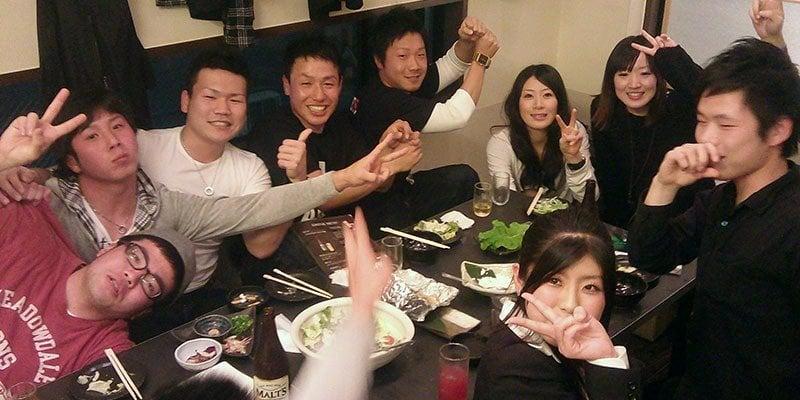 Como estudar japonês sozinho - festa gokon 10