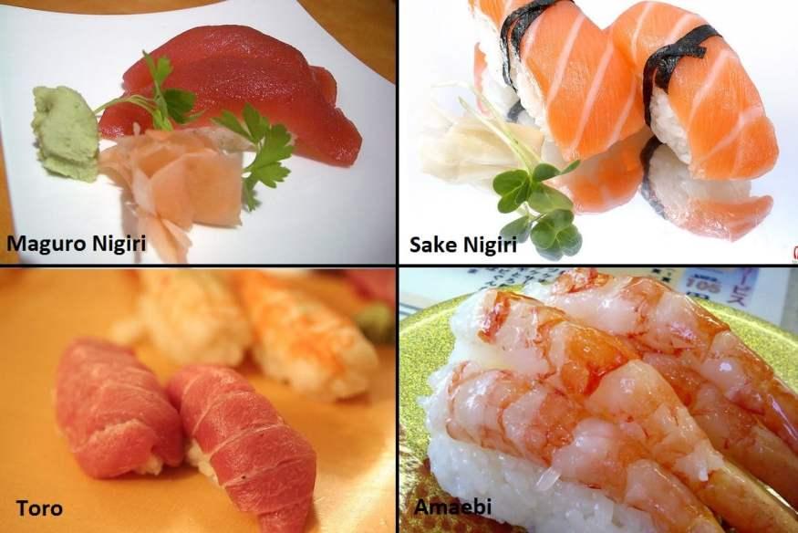 Tipos de sushi, urumaki, hossomaki e nigiri, urumaki