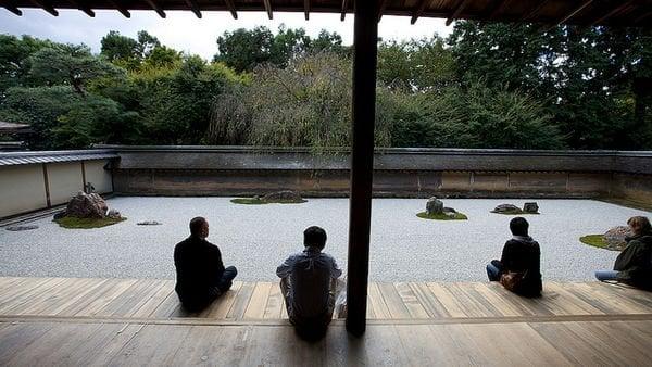 Ryoanji Temple Contemplação