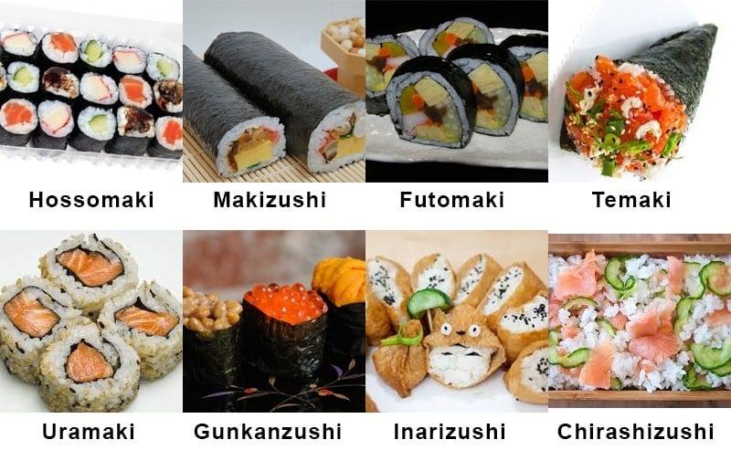 sushi categoria