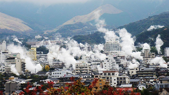 Visite uma fonte termal - 5 onsen para visitar no Japão - beppu cidade dos onsen 4