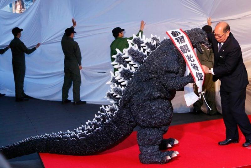Godzilla é reconhecido como cidadão japonês - godzilla turismo 1