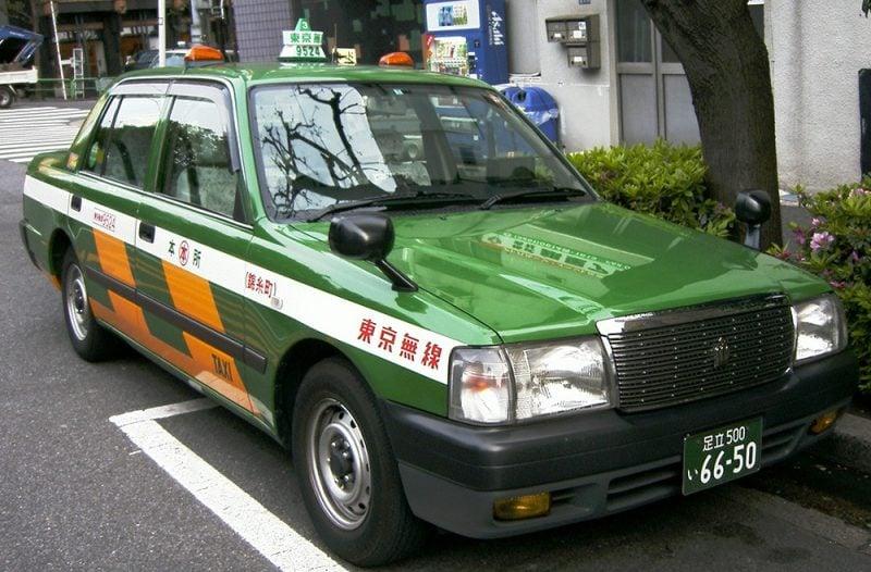 Como pegar táxi no Japão? 1