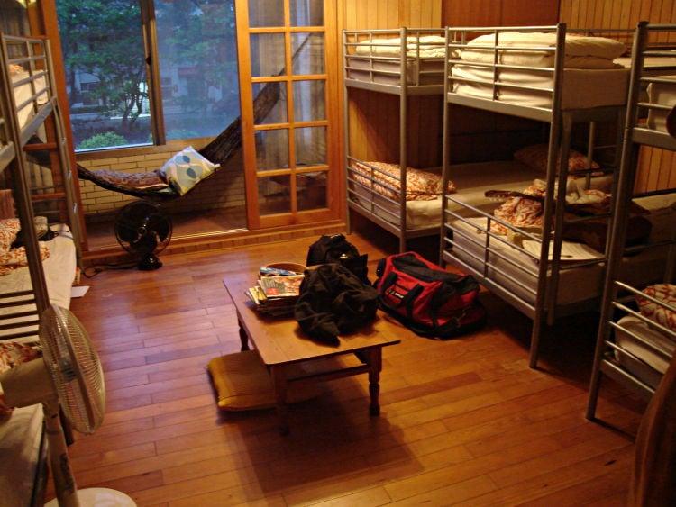 Tipos de hospedagens e acomodações no japão