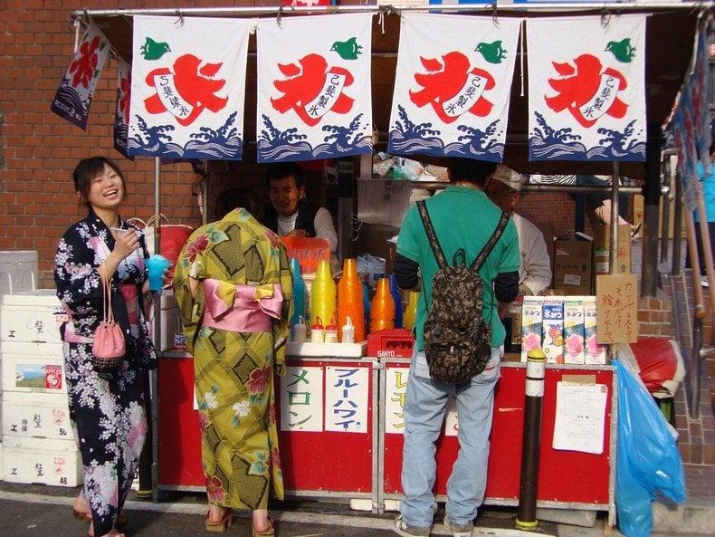 Kakigori - かき氷 - Raspadinha Japonesa - kakigori raspadinha 2
