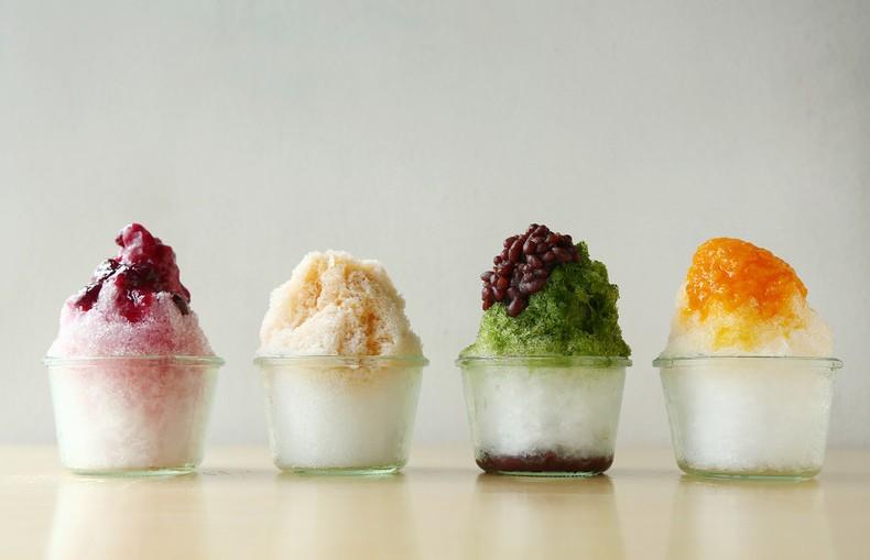 Kakigori – かき氷 – raspadinha japonesa