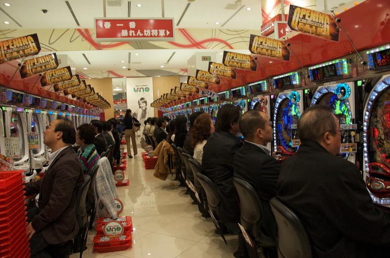 Pachinko guide - betting machines in japan
