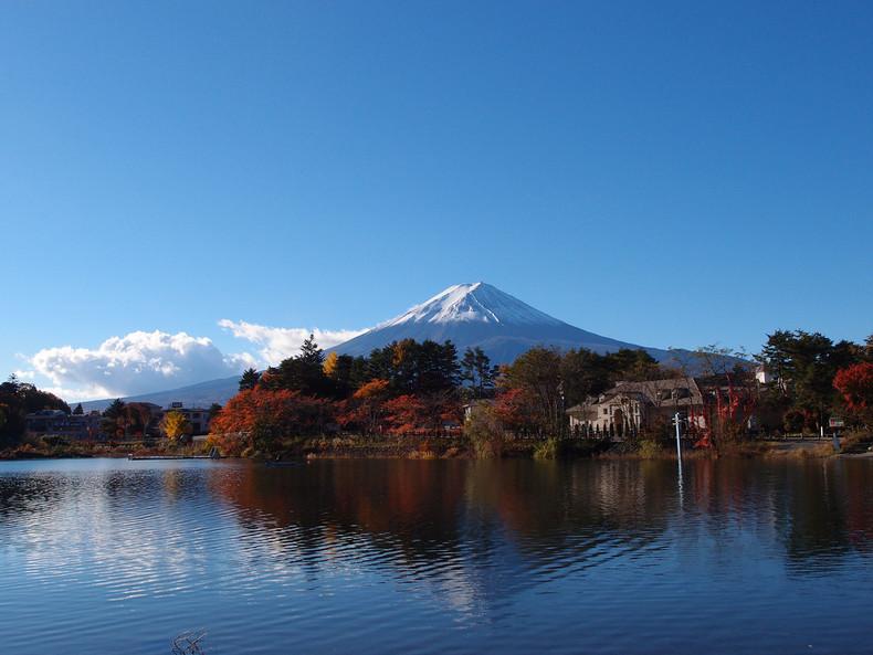 Aprecie as folhas do outono no Japão! - Fuji Five Lakes Autumn 3790 218 4