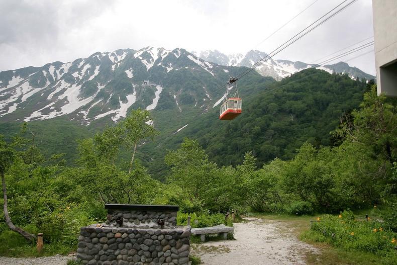 Rota alpina tateyama kurobe