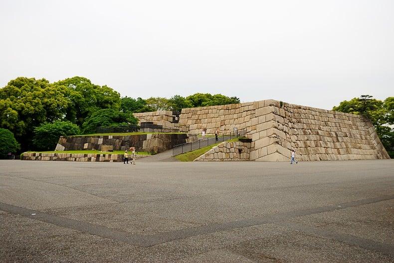 Castelo edo - palácio imperial de tokyo