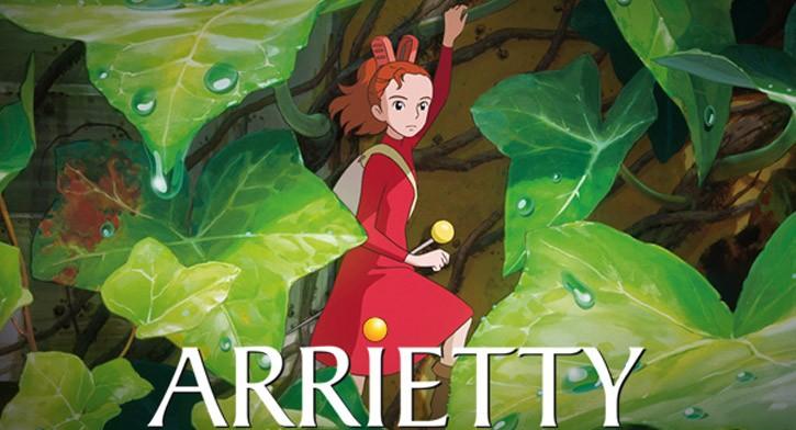 Os 10 filmes japoneses com maior bilheteria - anime arrietty 1