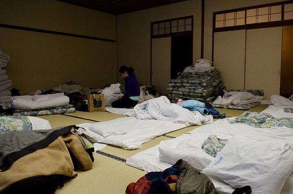 Futon - os japoneses dormem no chão?